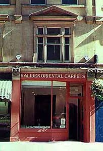 Haliden of Bath for contemporary orientalrugs, persian carpets, area carpets, tribal rugs and textiles, runners, kelims, bags and trappings